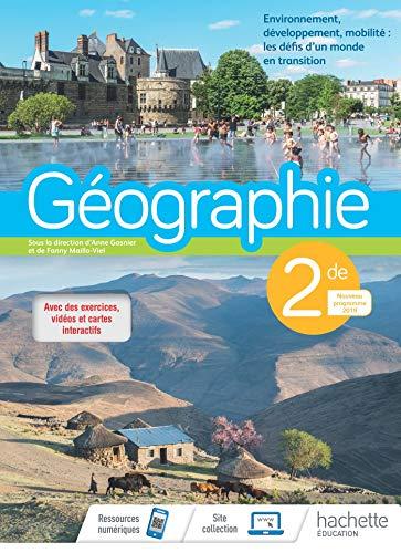 Géographie 2nde - Livre élève - Ed. 2019 (Géographie (Gasnier, Maillo-Viel)) por Anne Gasnier,Fanny Maillo-Viel