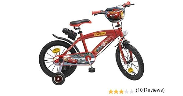 Toim- Cars 3 Bicicleta con Pedales (748): Amazon.es: Juguetes y juegos