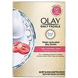 Olay Daily Facials, Clean Makeup Removing Face