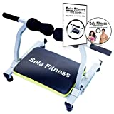 Sela fitness Total Body Exercise machine Ab Workout Fitness Trainer Home Gym Equipment Machine with DVD 35 minute guide