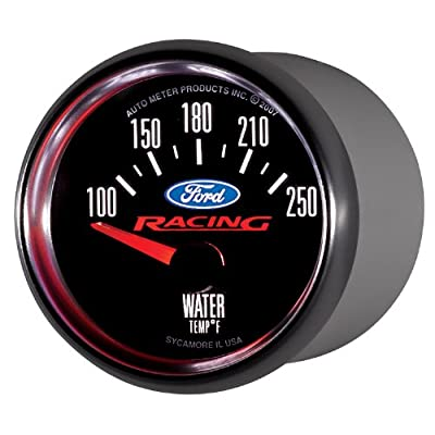 Auto Meter 880077 Ford Racing Series Electric Water Temperature Gauge: Automotive