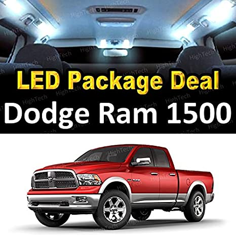 Amazon.com: LED Interior Package Deal for 2004 Dodge Ram 1500 (8 Pieces), WHITE: Automotive
