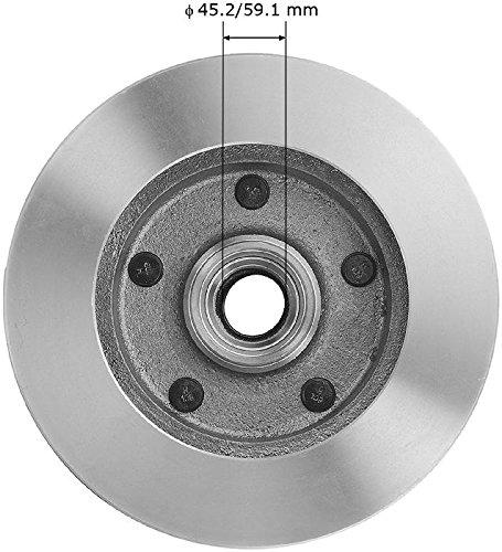 Bendix Premium Drum and Rotor PRT1907 Front Rotor
