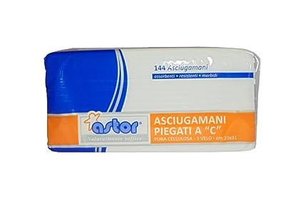 Astor Unidades 864 toallas cm 23 x 31 dípticas AC a 1 velo Toallitas absorbentes suaves