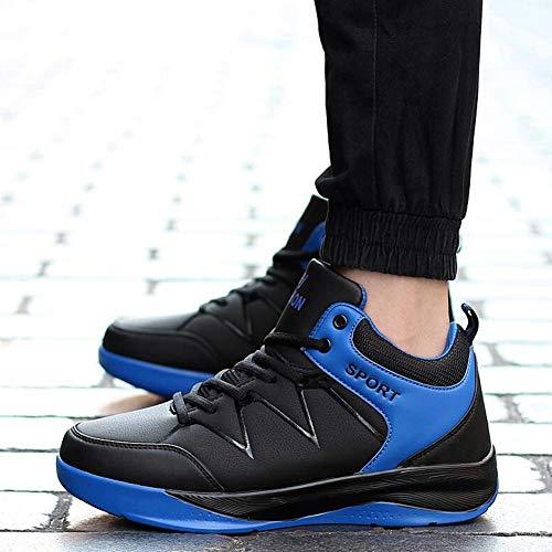 Cn41 Dsx De Y Para E Azul Eu40 Deportes Invierno Uk7 Altos Otoño Zapatos Coreanos Hombre Ocio TBq5TZ
