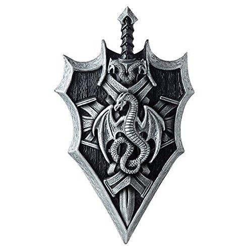 Costume Beautiful Dragon Shield And Sword (The Heaven Sword & The Dragon Sabre 2000)