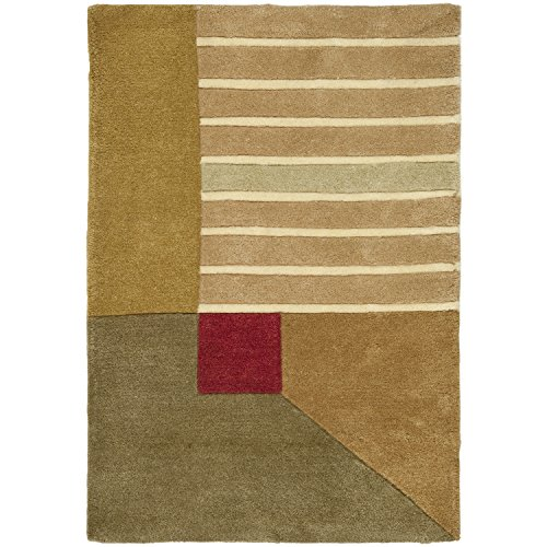 Safavieh Rodeo Drive Collection RD618A Handmade Modern Abstract Multicolored Wool Area Rug (6' x - Rodeo Drive Collection