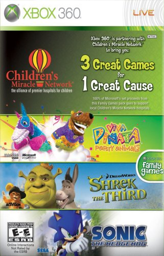 Microsoft Childrens Miracle Network Games Bundle