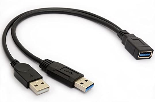 Cable Length: Other Computer Cables 30CM USB 3.0 A Male to B Female Cable