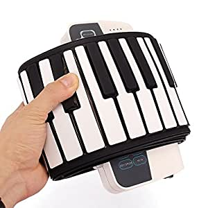doremi s 88 professional 88 key roll up piano with midi keyboard toys games. Black Bedroom Furniture Sets. Home Design Ideas