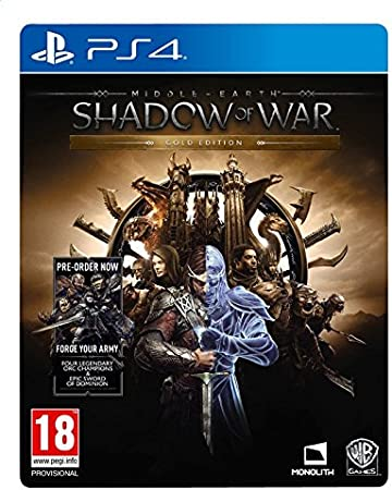 ps4 – Shadow of War (Gold Edition) (1 Juego): Amazon.es: Electrónica