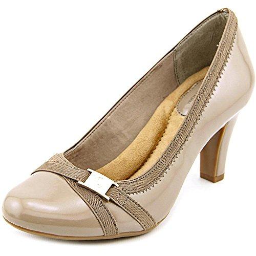 Giani Bernini Womens Vollett Leather Closed Toe Classic, Dark Taupe, Size 6.5 from Giani Bernini