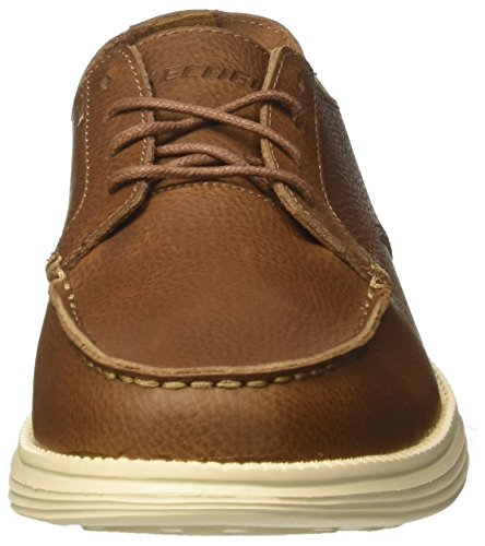 Mocassini Brown Skechers Uomo Status Marrone Lerado XxXrwEqn0