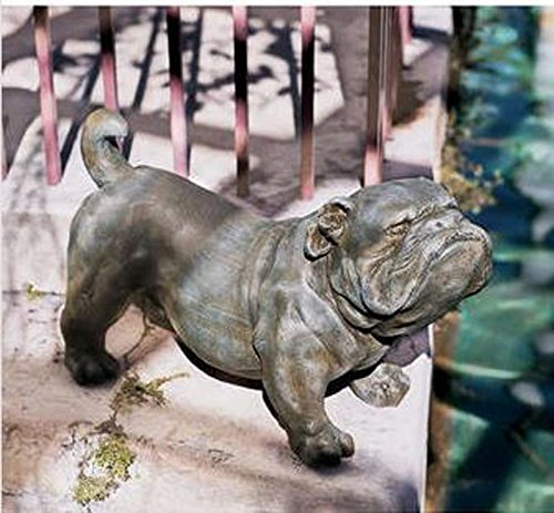 lifesize bulldog statue - 2