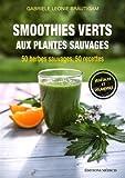 Smoothies verts aux plantes sauvages : 50 herbes aromatiques sauvages, 50 recettes, Calendrier de cueillette et conseils de récolte inclus, Végétalien et savoureux