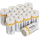 AmazonBasics C Cell Everyday 1.5 V Alkaline Batteries (12-Pack)