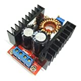 DROK 100W DC 10-32V to 60-97V Step Up Converter Voltage Regulator Boost Charge Module for Electro mobile and Car Automotive Vehicle