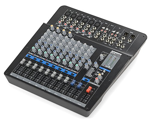 Samson Mixpad MXP144FX 14-Channel Analog Stereo Mixer with Effects and USB by Samson Technologies
