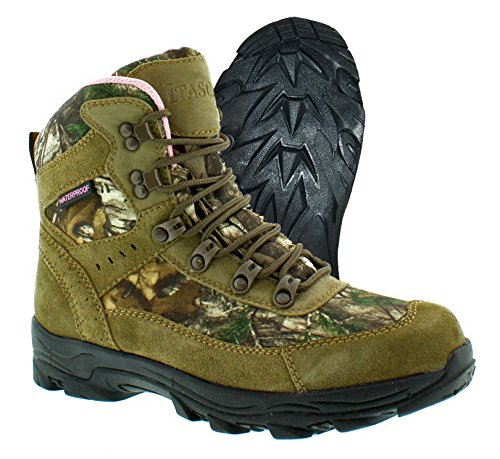 Itasca Boots Womens (Itasca Women's Thunder Ridge Uninsulated Boots, Size 10 Ankle, Brown/camo, M US)