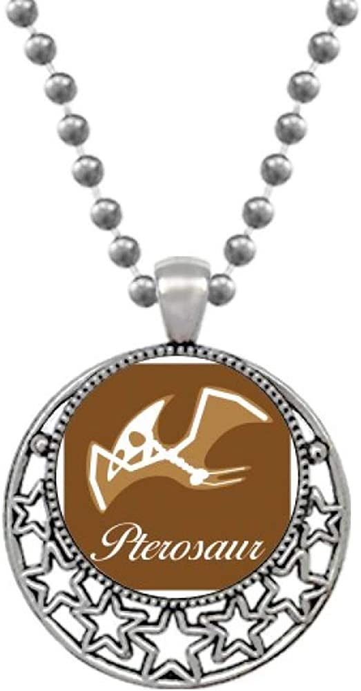 OFFbb-USA Bone Pterosaur Bone Art Deco Gift Fashion Necklaces Pendant Retro Moon Stars Jewelry
