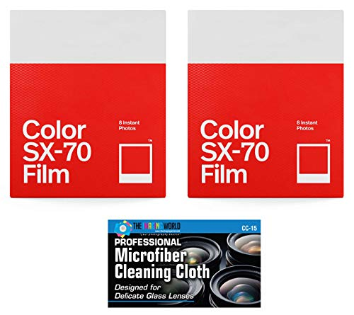 (Impossible/Polaroid Color Glossy Film for Polaroid SX70 Cameras - 2 Pack)
