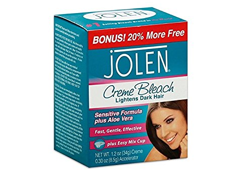 Jolen Creme Bleach Sensitive Formula Plus Aloe Vera 1oz
