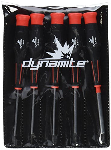 Standard Set Tool Hobby - Dynamite 5 pc Metric Hex Driver Assortment