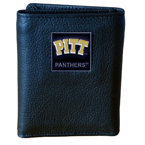 Pittsburgh Panthers Genuine Leather Tri-fold Wallet
