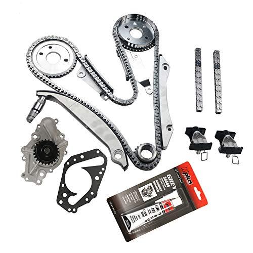 - MOCA Timing Chain Kit Water Pump for 02-06 Dodge Stratus Charger Intrepid Magnum & 02-06 Chrysler Sebring Concorde 300 2.7L V6 DOHC 24V Vin Code