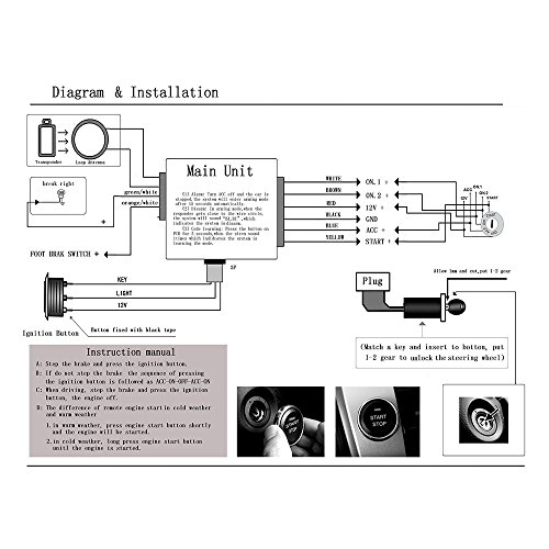 Alarm Auto Watch Diagram Car Wiring 280rli  Autowatch
