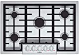 Bosch NGMP055UC Benchmark 30 Stainless Steel Gas Sealed Burner Cooktop