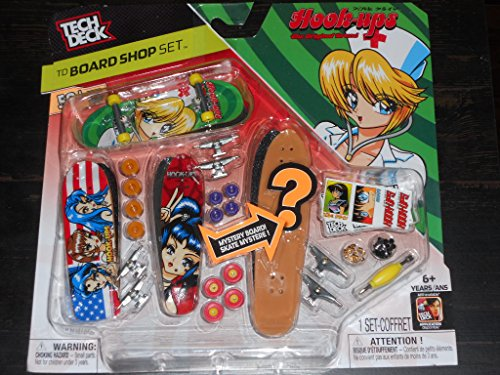 (Tech Deck TD Board Shop Set Hook Ups Mystery Board Skate)