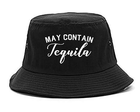 Amazon.com  May Contain Tequila Mexico Vacation Bucket Hat Black ... bce2bc6b2