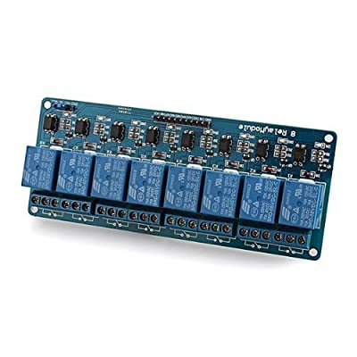 uxcell 5V Electronic Relay Module 8-Channel Shield for 51 AVR ARM Logic