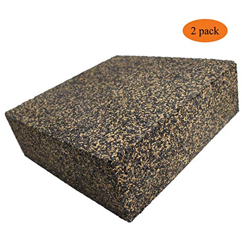 BXI - Anti Vibration Isolation Pads - Composed of Rubber & Cork - Thick & Heavy - 6'' X 6'' X 2'' (2 ()
