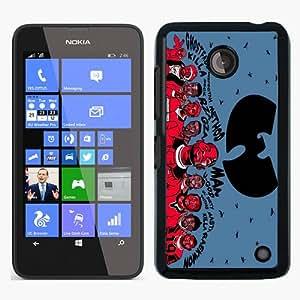 Great Quality Nokia Lumia 630 Case ,Wu-tang Clan Black Nokia Lumia 630 Cover Case Hot Sale Phone Case Unique And Beatiful Designed