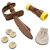 Disney Jake and the Never Land Pirates Costume Sword, Spyglass, Doubloons & Pouch