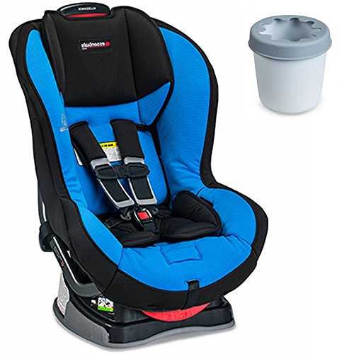 Britax Allegiance Convertible, Azul Car Seat With Cup Holder Bundle