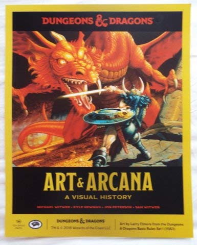 NYCC 2018 DUNGEONS & DRAGONS ART & ARCANA A Visual History Promotional Poster
