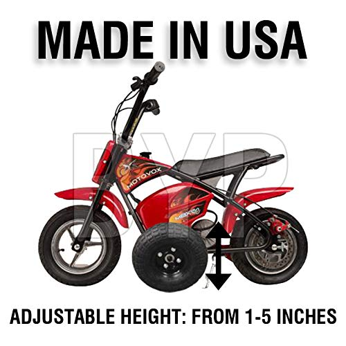 BYP_MFG_INC Adjustable Height MOTOVOX MBXXSE Kids Youth Training Wheels ONLY by BYP_MFG_INC