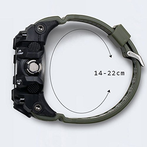 Yiding Mens Sports Digital Watch Multifunctional Watch Christmas Gift by YiDing (Image #3)