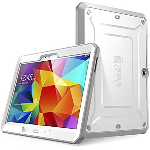 Samsung Galaxy Tab 4 10.1 Case, SUPCASE [Heavy Duty] Case for Galaxy Tab 4 10.1 Tablet [Unicorn Beetle PRO Series] Full-body Rugged Hybrid Protective Cover with Built-in Screen Protector (Otter Box Galaxy Tablet 4)