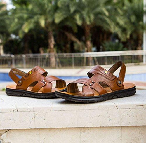 Spiaggia Scarpe Uomini da Yellow Sandali Scarpe Pantofole da Casual Classiche Traspiranti Uomo pwxqS6