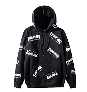 ce4abe8d5ad3 Fashion Flame Hoodie Classic Sweater Pullover Hoodie for Men Women at  Amazon Men s Clothing store
