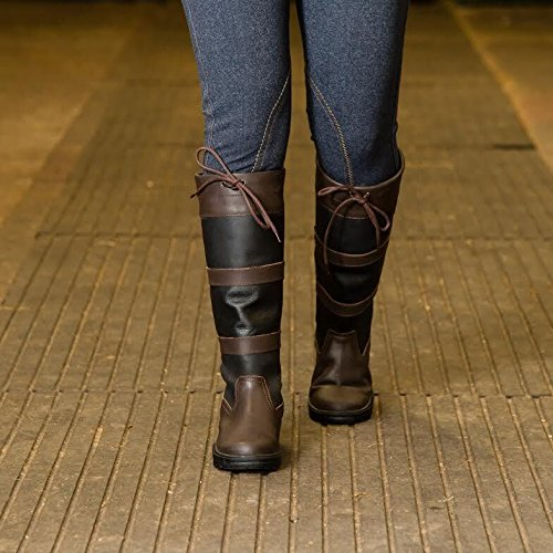 Water Resistant Boots Riding Joy Country Rider Horse New Equestrian Black Tall Walking wCxSgtqp