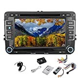 Free Canbus + Car DVD GPS Video Player Stereo Radio HeadUnit For VW Volkswagen Golf Amarok T5 Jetta EOS Caddy Polo 7 Inch