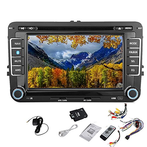 pupug car dvd gps video player stereo radio headunit for. Black Bedroom Furniture Sets. Home Design Ideas