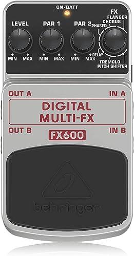 Behringer Digital Multi-FX FX600 Digital Stereo Multi-Effects Pedal