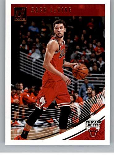 2018-19 Donruss #68 Zach LaVine Chicago Bulls Basketball Card GOTBASEBALLCARDS