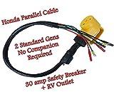 Hutch Mountain Parallel Any 2 Eu2200i / EU2000i Honda Genertor - no Companion Needed - Cable